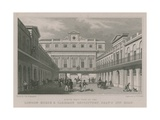 North West View of the London Horse and Carriage Repository, Gray's Inn Road Giclee Print by Thomas Hosmer Shepherd