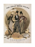 The Jolly Dogs Polka Giclee Print by Alfred Concanen
