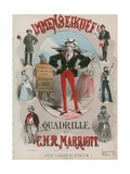 Immenseikoff, the Great Comic Song Giclee Print by Alfred Concanen