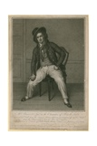 Mr Bannister Junior in the Character of Ben the Sailor Giclee Print by Samuel de Wilde