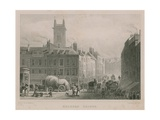 Holborn Bridge, London Giclee Print by Thomas Hosmer Shepherd