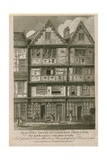 Beaumont House, Butcher Row, Temple Bar Giclee Print by Samuel Rawle