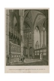 Part of the Sachristary Leading to the Chapel of King Henry Vii, Westminster Abbey, London Giclee Print by Thomas Malton