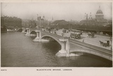 Blackfriars Bridge, London Photographic Print by  English Photographer