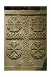 Byzantine Relief Decorated with Crosses. Marble Slab. Greece Giclee Print
