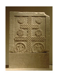 Byzantine Art. Marble Slab Decorated with Reliefs. Xi-Xii Century Giclee Print