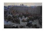 Crimean War (1853-1856). Siege of Sevastopol, 1854-1855, by Franz Alekseyevich Roubaud (1856-1928) Giclee Print