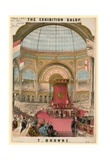 The Exhibition Galop by T Browne Giclee Print by Thomas Packer