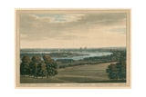 Battersea, Chelsea and London, from Mr Rucker's Villa Giclee Print by Joseph Farington