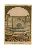 The International Quadrille by Charles D'Albert, Opening Day, 1 May 1862 Giclee Print by John Brandard