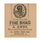 Advertisement for a Ames Giclee Print
