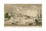 A View Taken Near Limehouse Bridge Looking Down the Thames Wydruk giclee autor John Boydell