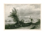 Fulham and Putney from the Surrey Shore Giclee Print by James Stark