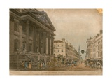 The Mansion House, London Giclee Print by Thomas Malton
