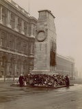 General View of the Cenotaph in Whitehall Photographic Print