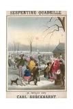 Musical Score for Serpentine Quadrille on Popular Airs by Carl Burckhardt Giclee Print by John Brandard