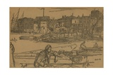 Black Lion Wharf Giclee Print by James Abbott McNeill Whistler