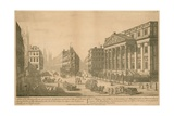 A View of the Mansion House, Appointed for the Residence of the Lord Mayor of London Giclee Print by Thomas Bowles
