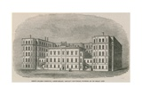 King's College Hospital, Cary Street, Lincoln's Inn Fields Giclee Print by Philip Henry Delamotte