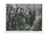 A Royal Almsgiving Giclee Print by Sydney Prior Hall