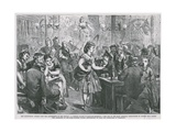 A Singing Saloon in Ratcliff Highway Giclee Print