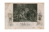 Sir William Walworth, Lord Mayor of London Killing Wat Tyler in Smithfield Giclee Print by James Northcote
