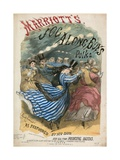 Marriott's Jogalong Boys Polka, Musical Score Giclee Print by Alfred Concanen