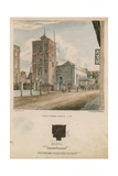 South West View of Wandsworth Church Giclee Print by Charles Burton
