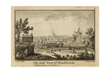 The East View of Wandsworth Giclee Print by Jean Baptiste Claude Chatelain