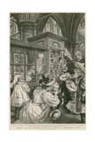 The Wax Effigies in the Islip Chapel at Westminster Abbey Giclee Print by Charles Paul Renouard
