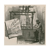 The Weavers of Spitalfields Reproduction procédé giclée