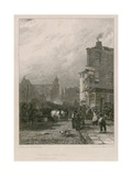 Demolition of Swallow Street, London Giclee Print by Sir Augustus Wall Callcott