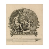 Ticket to the Ball at the Mansion House, London, 17 April 1775 Giclee Print by Giovanni Battista Cipriani