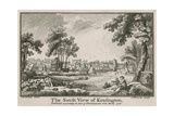 The South View of Kensington Giclee Print by Jean Baptiste Claude Chatelain