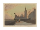 Houses of Parliament, Westminster Giclee Print by Joseph Kirkpatrick