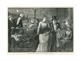 A Midsummer Night on the Terrace of the House of Commons Giclee Print by Harry Furniss