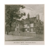 Rectorial House at Newington Butts, Southwark, London, from the South East Giclee Print