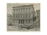 The Palazzo Rezzonico, Venice Giclee Print