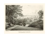 Woolwich from the Rotunda, London Giclee Print by Thomas Mann Baynes