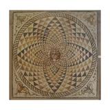 Roman Mosaic with Dyonysius Head Giclee Print