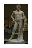 Roman Art. Marble Statue of a Youthful Hercules. Early Imperial, Flavian. (68-98) Giclee Print