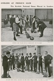 Curlers at Prince's Club, the Scottish National Game in London Photographic Print