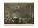 The Riot of Broad Street, London, on 7 June 1780 Giclee Print by Francis Wheatley