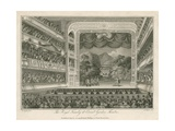 The Royal Family at Covent Garden Theatre, London Giclee Print by Edward Pugh