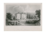 Mount Clare in Roehampton Giclee Print by Thomas Allom