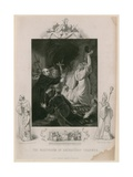 The Martydom of Archbishop Cranmer Giclee Print by Robert Smirke
