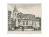 Church of St Dunstan in the West Giclee Print by Thomas Talbot Bury