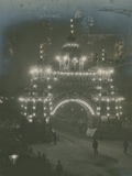 Illumination of the Arch of Canada Photographic Print