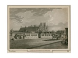 View of Westminster Bridge Giclee Print by Thomas Malton