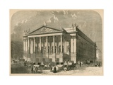 The New Italian Opera House, Covent Garden, London Giclee Print by William Henry Prior